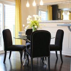 Contemporary Dining Room by Dlyte Interior Design
