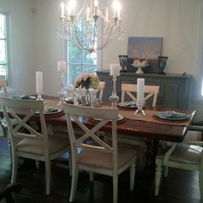 Traditional Dining Room by Kristen Moorehouse