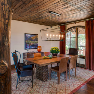 75 Beautiful Rustic Dining Room Pictures & Ideas | Houzz