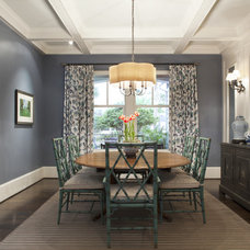 Contemporary Dining Room by Amanda Webster Design