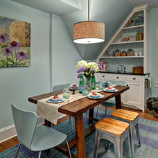 Traditional Dining Room by Crystal Kitchen Center