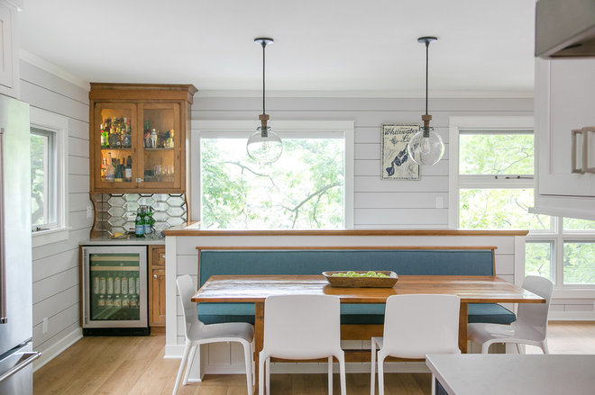Farmhouse Dining Room by Natalie L. Spiniolas