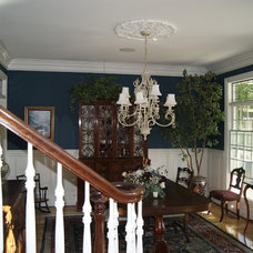 Traditional Dining Room by Breckenridge Homes, Inc