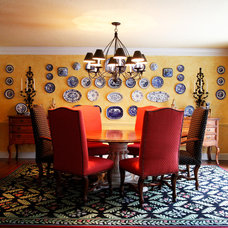 Traditional Dining Room by O'Neal Interior Design