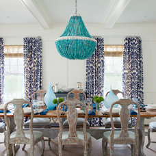 Eclectic Dining Room by amanda nisbet