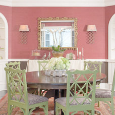Traditional Dining Room by Nest Architectural Design, Inc.