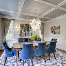 Transitional Dining Room by Great Neighborhood Homes