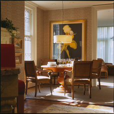 Traditional Dining Room by Johnson Berman