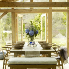 Farmhouse Dining Room by Victoria Meale Design