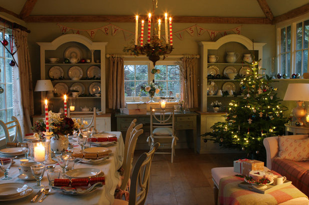 Farmhouse Dining Room Country Dining Room