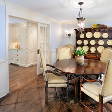 Traditional Dining Room by Linda G Larisch, CMKBD, Designer for Airoom, LLC