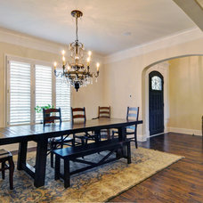 Traditional Dining Room by Braswell Homes Inc