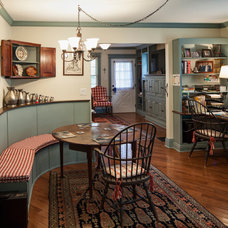 Farmhouse Dining Room by Handy Home Guys