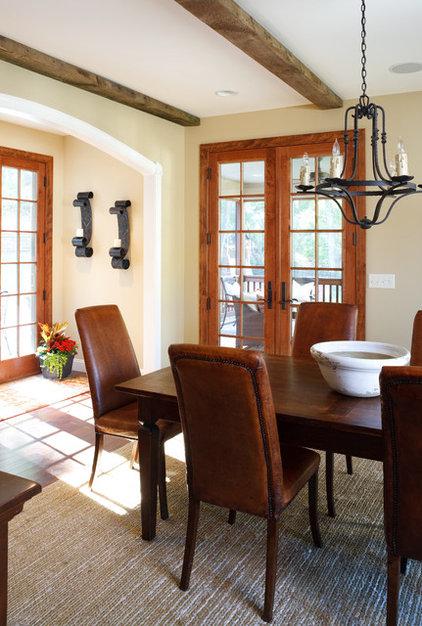 Rustic Dining Room by Sharon M. Gatt, ASID, NCIDQ