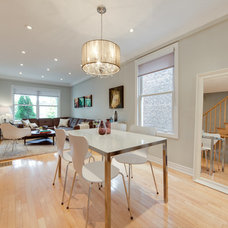 Contemporary Dining Room by The Graces - ReMax Hallmark Realty