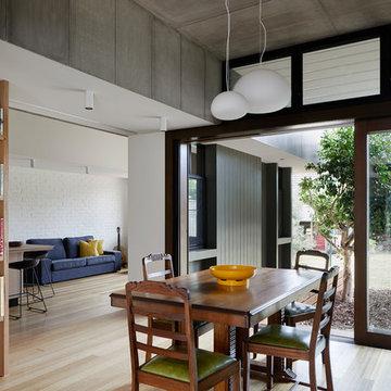 Courtyard Deck House