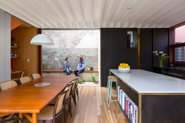 Contemporary Dining Room by Aileen Sage Architects