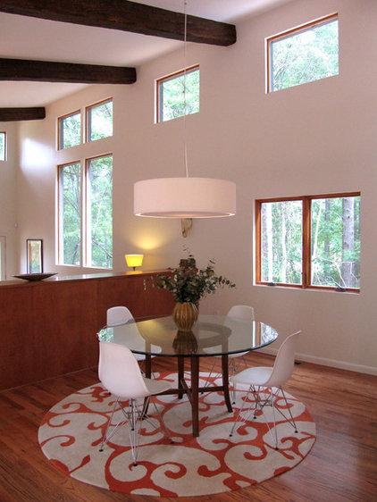 Modern Dining Room by Bork Design, Inc.