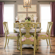 Traditional Dining Room by Southern Inspirations by Linda Gale