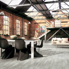 Industrial Dining Room COVERINGS 2013