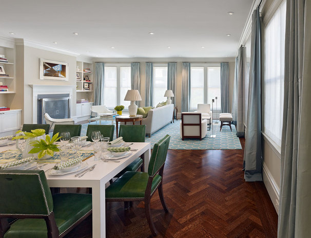 Contemporary Dining Room by Matarozzi Pelsinger Builders