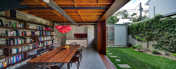 Industrial Dining Room by Carter Williamson Architects