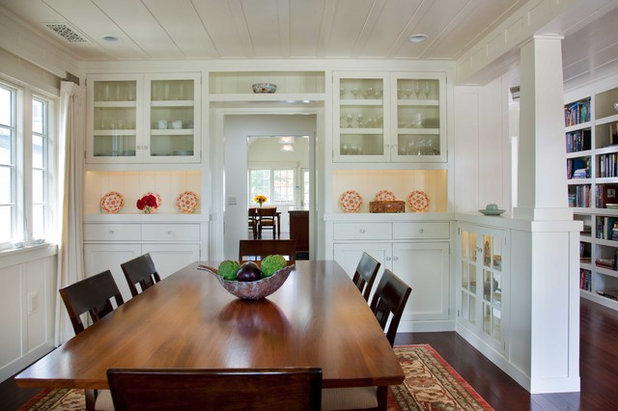 Traditional Dining Room by Gatling Design