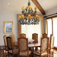 Traditional Dining Room by Tanya Simpson Miller  Design
