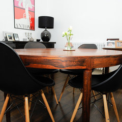 contemporary dining room by Beccy Smart Photography