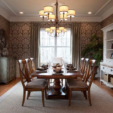 Craftmark homes model interior shoot