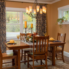 Craftsman Dining Room by All in the Details