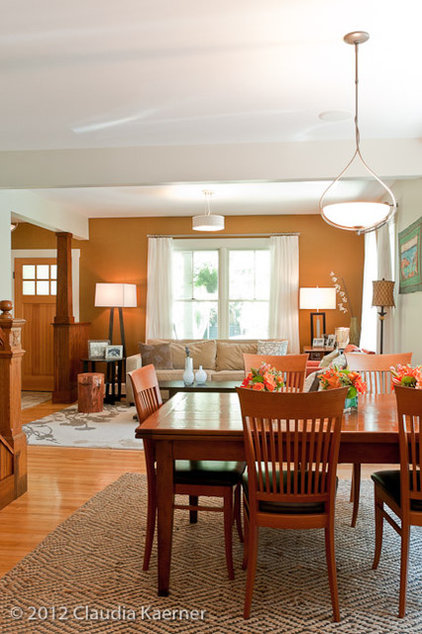 craftsman dining room by amydutton Home
