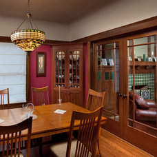 Craftsman Dining Room by Andrew Melaragno