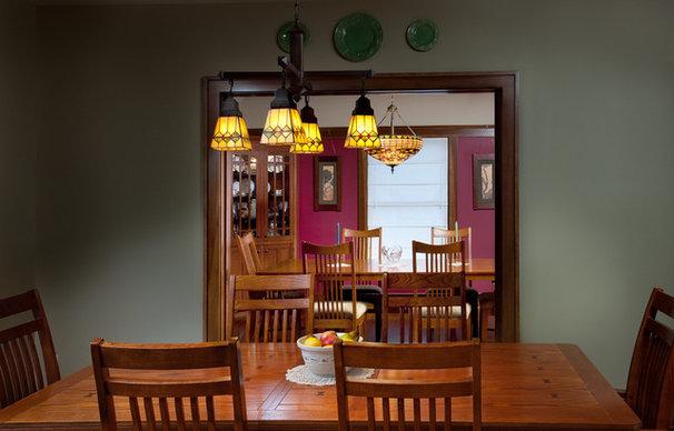 Craftsman Dining Room by Andrew Melaragno