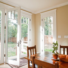 Craftsman Dining Room by Allwood Construction Inc