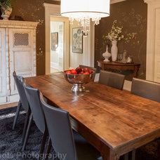 Craftsman Dining Room by Rosichelli Design