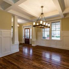 Craftsman Dining Room by Bradford Custom Home Builder
