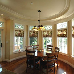 traditional dining room by Mark Brand Architecture