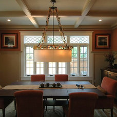 Craftsman Dining Room by Mark Brand Architecture