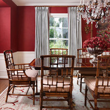 Traditional Dining Room by Colleen Farrell Design, llc