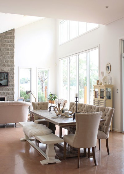Country Dining Room by RedAgape Blog