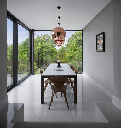 Contemporary Dining Room by Mulroy Architects