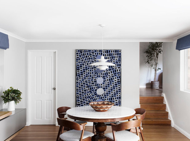 Transitional Dining Room by Ioanna Lennox Interiors