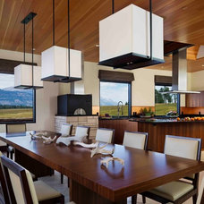 Contemporary Dining Room by ek Reedy Interiors, Inc.