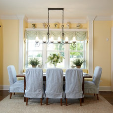 Traditional Dining Room by Siena Custom Builders, Inc.