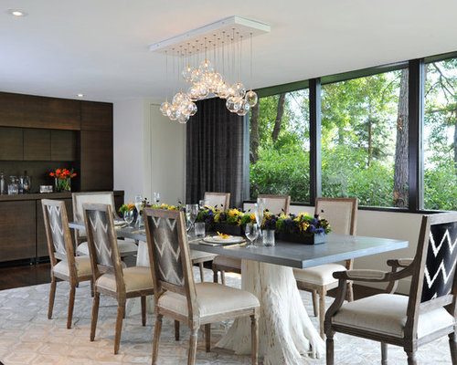 Tree trunks home design ideas pictures remodel and decor for Tree trunk dining room table