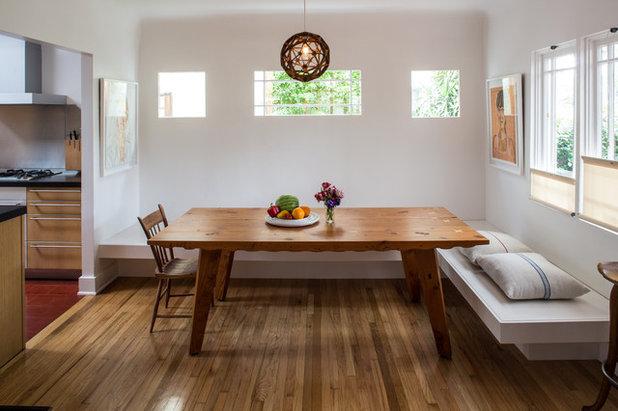 Mediterranean Dining Room by Studio Karras
