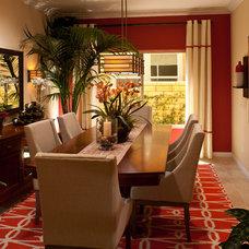 Contemporary Dining Room by Studio V Interior Design