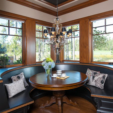 Traditional Dining Room by Scott Gilbride/Architect Inc.