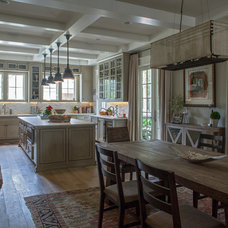 Traditional Dining Room by Geoff Chick & Associates